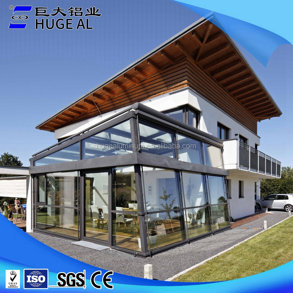 China custom aluminum sunshine glass room
