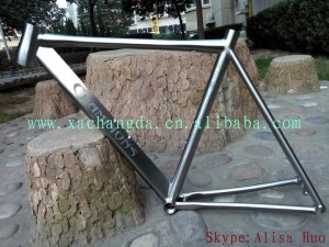 2016 new design!! titanium 55cm road bike frame titanium cyclocross bike frame 650B