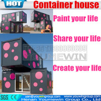 low cost expandable luxury prefab shipping prefabricated container house container home