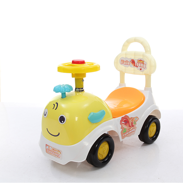 The most popular cartoon child toy car with music and light