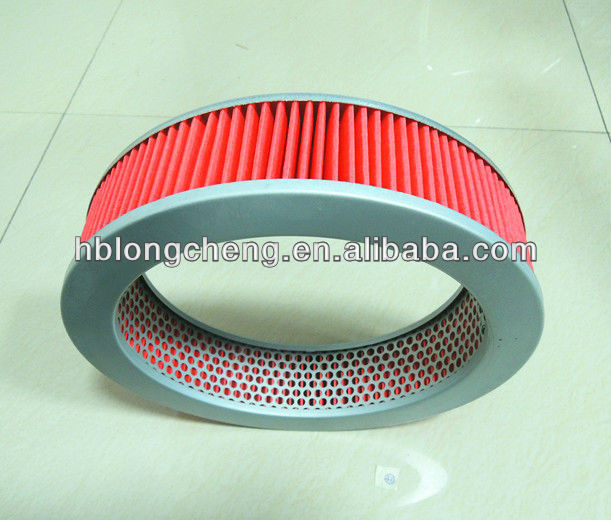 Round car air filter for ISUZU