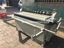 factory stainless steel wire mesh slitting machine exported to Korea