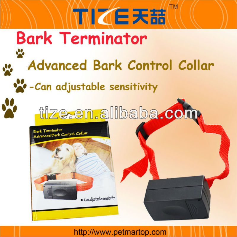 Remote vibrating dog training collar TZ-PET801A Ultrasonic dog bark control Effective on dogs from 2 to 60kg