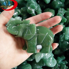 gemstone elephant carving agate figurines elephant animals for decoration