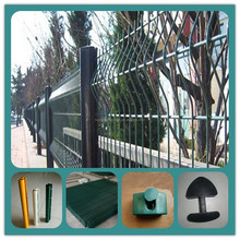 fence decoration/curvy welded fence/short metal garden fence (manufacturer)