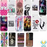Different popular pattern mobile phone tpu case for iPhone 6 plus/6s Plus