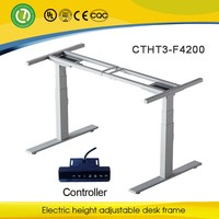 Home/school electrical lift desk metal frame