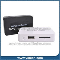 wireless wifi card reader support Micro SD card/TF card