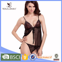 New Arrival Babydolls Sexy Mature Women Photo Lingerie
