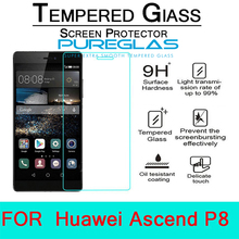 Magic Glass Film automatic absorb mobile phone screen protector for Huawei P8 & P8 Lite