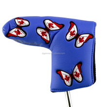 Small MOQ golf club putter head cover wholesale animal cover golf