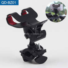 Best-Selling Bike Bicycle Handlebar Handle Grip 2 Clips Phone Clamp Holder For Mobile Phone Mini GPS Umbrella