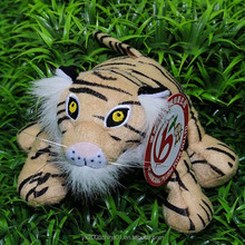 Safety to health soft customized tiger toys