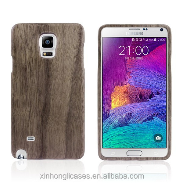 Wholesale Detachable Nature Wooden Case For Samsung Galaxy Note 4
