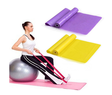 Stretch resistance exercise band yoga pilates gym mini loop ballet bands