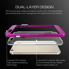 2016 Shockproof TPU+pc Waterproof Mobile Phone Case For Iphone 6 6S