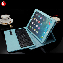 2016 Ultra-thin leather bluetooth keyboard cover for ipad 2/3/4