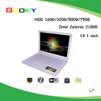 Buy Cheap Laptops in China 14.1 Inch Small Size Mini Laptop Netbook