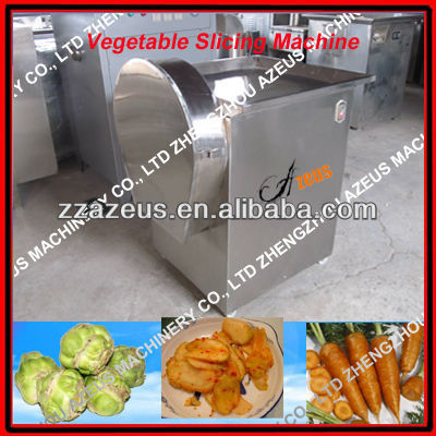 high quality slicing machine for kohlrabi garlic slicing machine