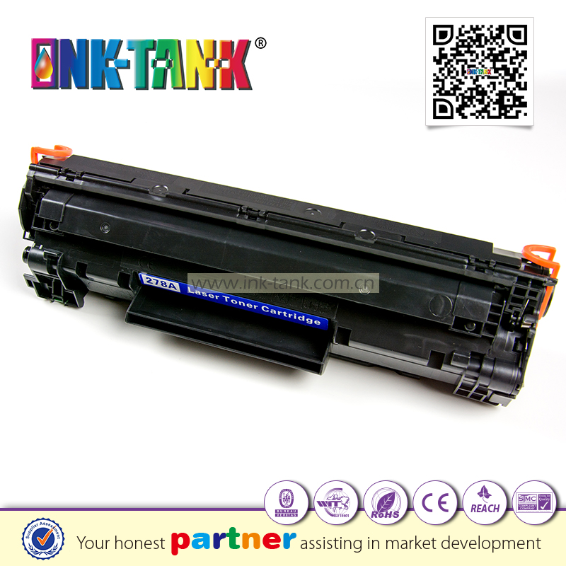 Printer compatible for hp 78A black toner cartridge (CE278A) Use in LaserJet Pro P1566 P1606dn M1536dnf