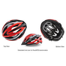 2017 HOT! Bicycle Cycling Helmet EPS+PC Material Ultralight Mountain Bike Helmet 24 Air Vents
