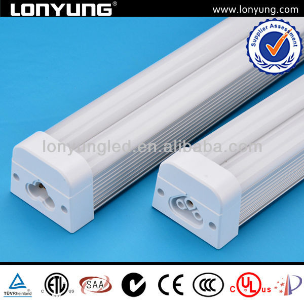 Fixed integrated T5 double tube full voltage 100LM/W 300mm~1800mm t5 chip