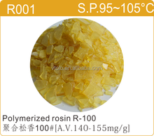 Alcohol soluble Non crystalline Resistant to oxidation Poly Pale Polymerized rosin resin