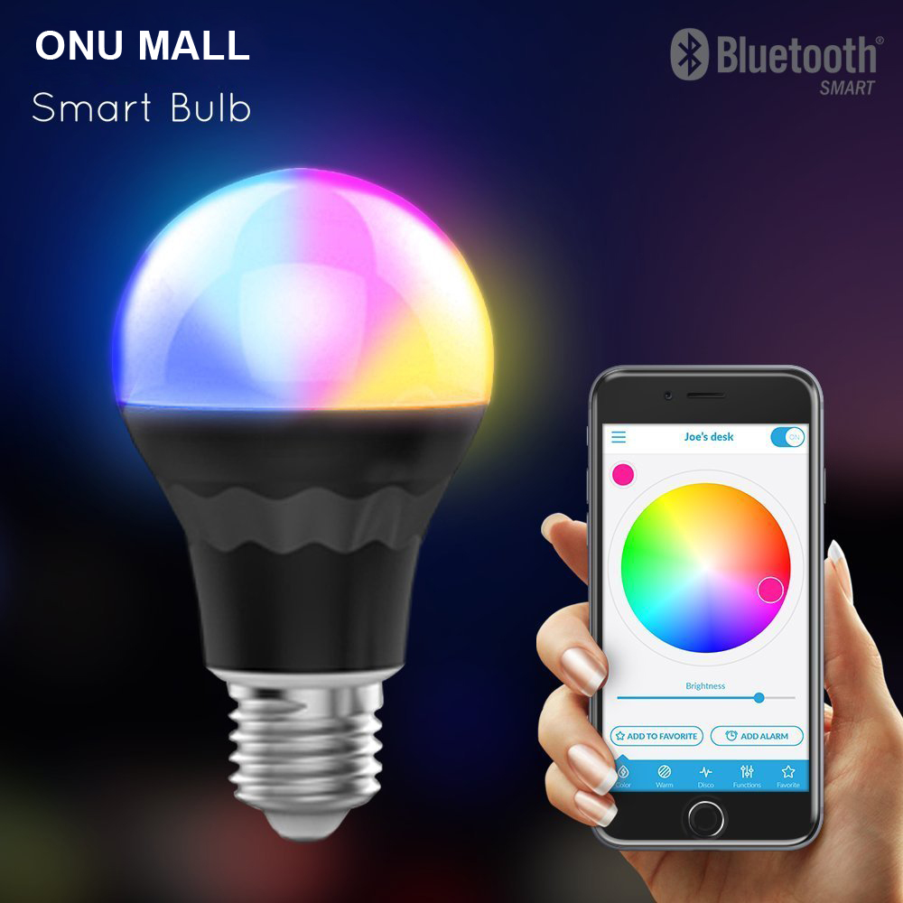 2016 Trending Products Led Bluetooth Light Bulb, Bluetooth Battery Operated Led Light Bulb China Supplier