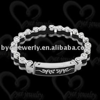 Stainless steel bracelet; stainless steel jewelry; fashion jewelry;