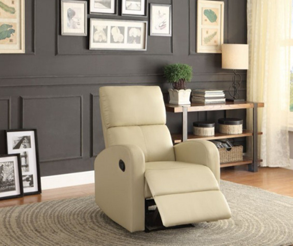 2015 New simple style fabric small designs of single seater sofa high back recliner azy boy relax Furniture 99290
