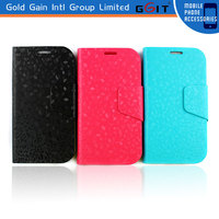 [GGIT] For Samsung for Galaxy S4 i9500 Cases Leather,Flip Leather Cover Case for Samsung for Galaxy S4 i9500