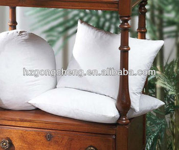 "100% cotton White 26""*26"" Feather/down Pillow/cushion"