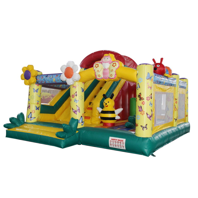 Commercial Castle Inflatable Bouncer Slide Combo Jumping House