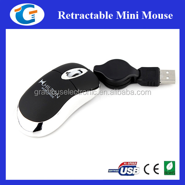 New Portable USB 3D Wired Optical Mouse For PC Laptop Computers