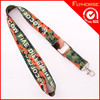 Funny Badge Holder Promotional Heat Transfer Polyester Lanyard
