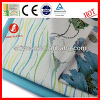 hot sell 100%cotton bus seat covers fabric