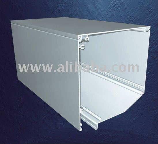 External Angled Roller Shutter Box for doors and windows