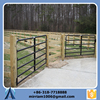Anping Baochuan Factory Heat Treated Oval Rail Panel Welded Tubular Corral Fence 6 Bar Farm Fence