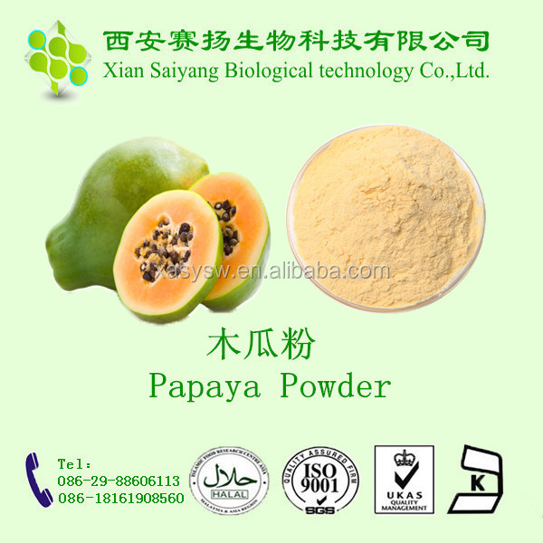 PURE Freeze Dried Green Papaya seed Powder /papaya leaf powder