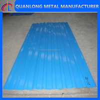 prepainted trapezoidal metal roof panels