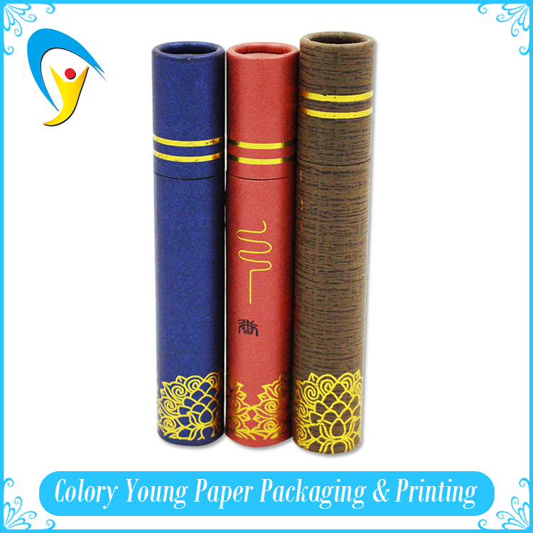 2016 Wholesale High Quality Recyclable Small Paper Tube For Lip Balm