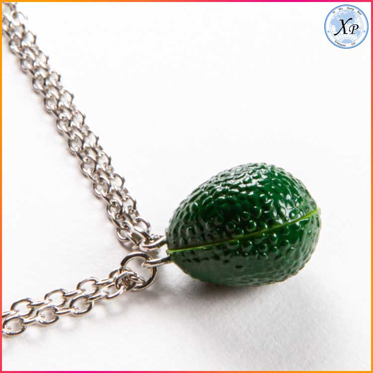 Yiwu Fashion Resin Avocado Jewelry Avocado Necklace Wholesale