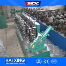 Galvanized sheet material light steel roof truss roll forming machine for roof ceiling battern furring channel