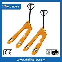 New Product Hydraulic Hand Pallet Truck olift 2.5ton pedestrian powered pallet trucks