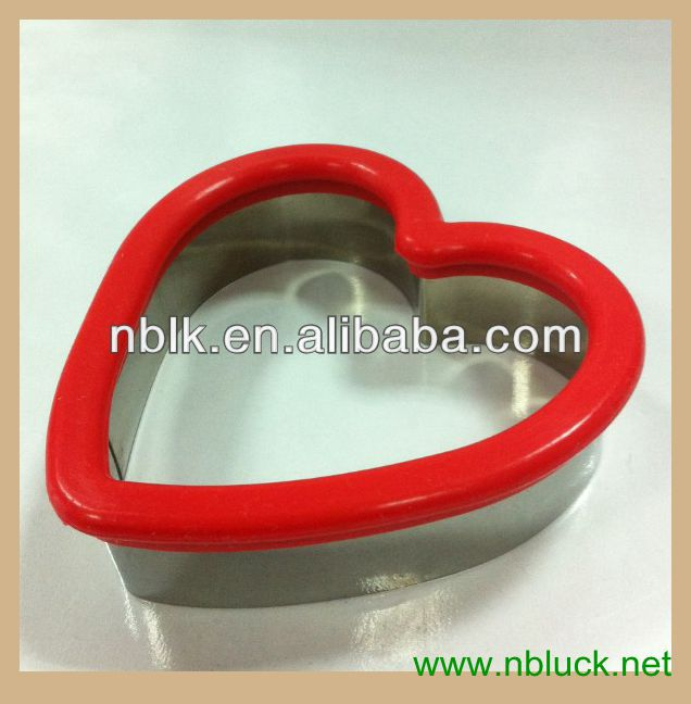 Fashional Stainless Steel Silicone Cookie Cutter