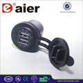 car charger usb, motorcycle usb charger 4.2A 5VDC double port*