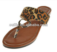 nice design ladies sandals new designs flat slippers lady beautiful flat sandal TH6009