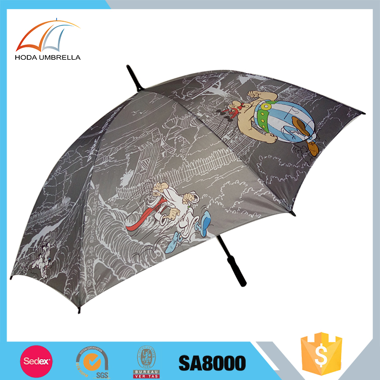 Hot New Products For 2017 person cartoon golf umbrella