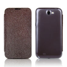 Show fashion:wallet leather case for samsung galaxy note 2 n7100