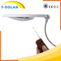 Y-SOLAR 24 LED Waterproof Energy Saving Light Type Portable Led solar Lamp with Remote Lightness Control